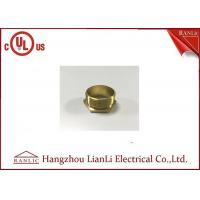 Best BSI Stahdard Brass Lock Nut Male / Female Bush GI Thread Hexagon Type wholesale