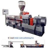 Best 300 - 400 Kg / H Double Screw Extruder Machine With Under Water Pelletizing System wholesale