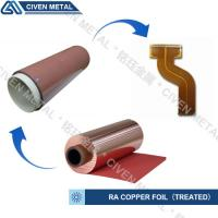 Best RA COPPER FOIL--TREATED/USED FOR FPC/FCCL/THINCKNESS:12/18/25/35/50UM wholesale