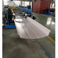 Best Adjustable Width Standing Seam Roof Panel Roll Forming Machine With Auto Seamer wholesale