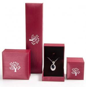 Best Creative Design Jewelry Plastic Box Mechanical Production For Pendant / Necklace wholesale