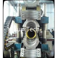Best High Output Double Wall HDPE Pipe Extrusion Machine Single screw wholesale