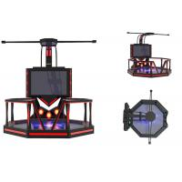 Best Theme Park Virtual Reality Game Simulator Steel Material Shooting Game Machine wholesale