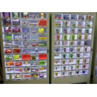 China Commercial Indoor Vending Machines Clear Display Window For Chips Condom Cigarette on sale
