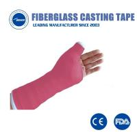 Buy cheap Waterproof fiberglass casting tape immobilizing soft semi-regid cast bandage orthopedic from wholesalers