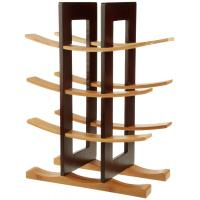 cheap home collection decorative wooden floor wine rack