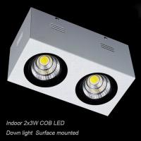 Best Interior IP40 surface mounted 6W COB LED downlight for home decoration wholesale