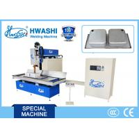 Buy cheap Kitchen Sink Stainless Steel Welding Machine 160KVA Overlap Welding Mode from wholesalers