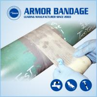 Best Easy to operate fast pipe repair armour tape and cable connection armored cast tape wholesale