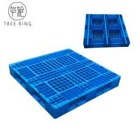 Best Full Perimeter Runner HDPE Plastic Pallets , Recycled Plastic Pallets For Stacking Option wholesale