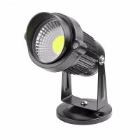 Best 3W COB exterior black waterproof rotate IP65 led garden light for garden wholesale