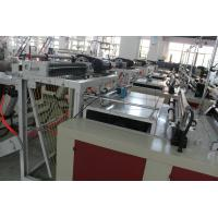 Best Professional Express Bag Making Machine , Plastic Pouch Making Equipment 700kg wholesale