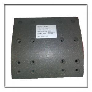 Best heavy duty truck brake liner, drum brake linings, brake system,bus brake lining wholesale