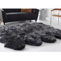 Best Living Room Decorative Australian Sheepskin Rug Comfortable Thick Soft For Baby wholesale