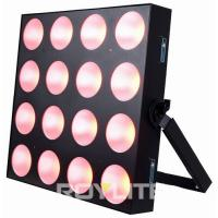 Best Theatre Professional Lighting 4 x 4 COB 30w RGB 3 In 1 LED Lighting Fixture wholesale