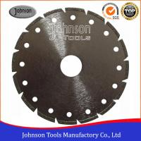 Best Segmented Type Angle Grinder Diamond Blade , Electroplated Diamond Blades Clear Color wholesale