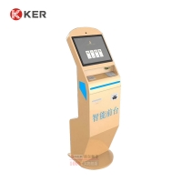 Buy cheap 1280x1024 4GB 17 Inch Hotel Self Check In Kiosk With Touch Screen from wholesalers