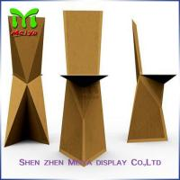 Best Natural / Brown , Retro Recycled Cardboard Furniture chairs For Subway & Bus Station wholesale