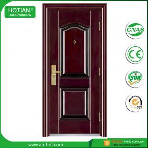 Best Sinple style indian house main gate designs steel security door exterior front door wholesale