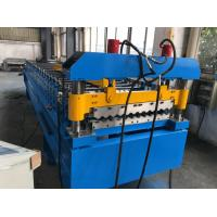 Best 380V 50Hz 3 Phases Roof Panel Roll Forming Equipment Manual Decoiler 20GP Container wholesale