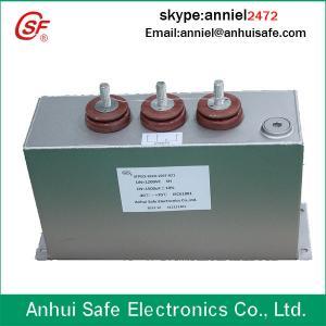 Best pulse capacitor original factory 250uf 2500VDC oil type shunt low voltage power capacitor wholesale