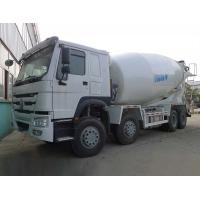 Best Sinotruk Howo 8X4 Concrete Mixer Machine 12 CBM Capacity White Color wholesale