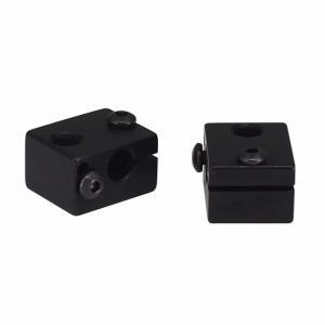Best Aluminum 20*16*12mm E3D V6 3D Printer Heater Block M6 Screw Thread wholesale