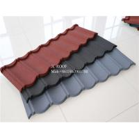 Best Color Stone Coated Steel Roofing Sheet , Terracotta Color Stone Coated Metal Roof Tile wholesale