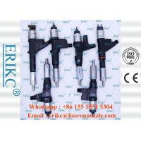 Best ERIKC 095000-8100 original japanese car injector 095000-8101 genuine denso injection VG1096080010 wholesale