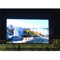 Cheap P8 P10 DIP Multi Color LED Curtain Display , Outdoor LED Panel Constant Current for sale
