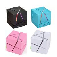 China Home Theater Wireless Speaker System Mini Cube Super Bass Stereo Audio Loud Wireless Speaker Support TF Card For Smartph on sale