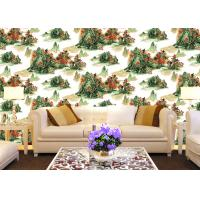 Best Chinese Style contemporary wall coverings Mountains And Rivers For Sofa/TV Background wholesale