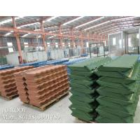Buy cheap House Corrugated Zinc Roofing Sheets Flexible Coffee Brown Bond / Classic from wholesalers