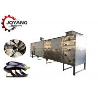 Best Industrail Tunnel Belt Hot Air Circulation Ginger Dryer Eggplant Drying Machine wholesale