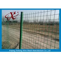 Best Commercial Horizontal Fence Panels , Holland Wire Mesh PVC Coated wholesale