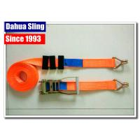 Best Truck Trailer Ratchet Strap Parts Heavy Duty Lashing Straps With Two Parts wholesale