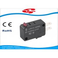 Best SPDT 3 Terminals Electrical Rocker Switches , Mini Push Button Switch LXW-3 Series wholesale