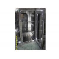 Best Laboratory Cleanroom Pass Box With Mechinaical Interlocker / Clean Room Equipment wholesale