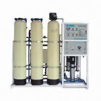 Buy cheap Reverse osmosis water treatment machine with 500L/hour output and UV sterilizer from wholesalers