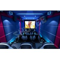 Cheap 14 Special effects 5D Cinema System Mini Luxury Leather Motion Chairs 5.1 audio system for sale