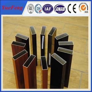 Best Aluminium profile wood color , OEM design 6063 grade aluminium triangle tube allibaba com wholesale