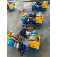 Quality 3 Ton Conventional Welding Rotator For Light  Pole / Tube / Steel Pole Rotation wholesale