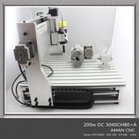 Best NEW 3040 cnc router 200W spindl 80MM Zaxis engraving machine wholesale