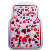 Best Rubber Latex Pure Material Universal Car Mat With Pink Lovely Pattern wholesale