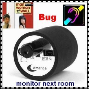 Best Mini Next Room Ear Amplifier Through Wall Door Audio Listening Spy Surveillance Bug wholesale