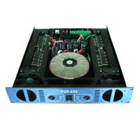 TOP-600, analogue, 2-channel, Class H, 2x600W @ 8Ω, fixed with high quality components. Excellent sound quality and extr