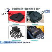 Best Gentle Touch Elderly Memory Foam Cushion , Car Booster Seat Cushions For Short People wholesale