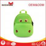 Best Softback green Student School Bags Lovely Hippo Shape 10-20L wholesale
