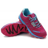 Best Stylish Four Seasons Mens Leather Sports Shoes , Anti Slip Suede Running Shoes wholesale