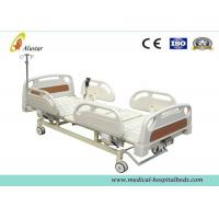 Best Luxury Strong Hospital Electric Beds Stable Three Position With Manual Crank wholesale